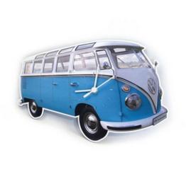 Klok T1 bus blauw