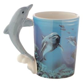 Dolfijn mok