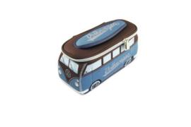 VW T1 Bus 3D universele tas - petrol/bruin