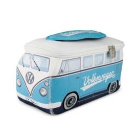 VW T1 Bus 3D universele tas - turquoise groot