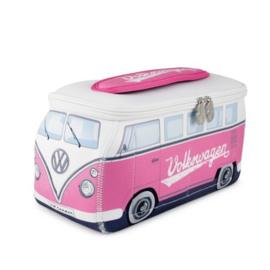 VW T1 Bus 3D universele tas - roze groot
