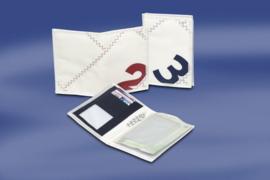 Portefeuille voor rij-/ vaar-/ kentekenbewijs rood