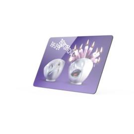 Snijplank/broodplankje 'Happy birthday'