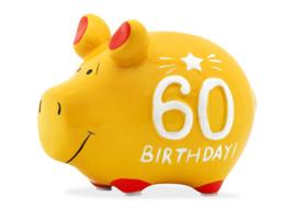 Spaarvarken 60 Birthday