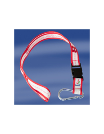 Keycord rood 2,5 cm