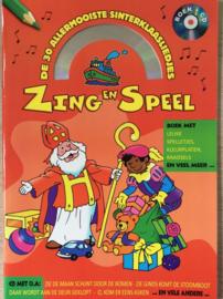 Zing en speel boek sinterklaas (incl cd)