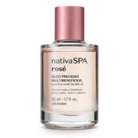 Nativa Spa Rosé Multi-olie voor gezicht, lichaam en haar 50 ml