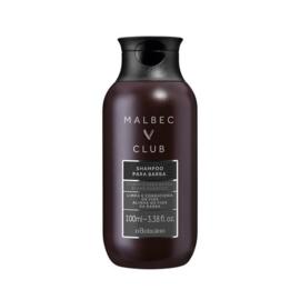 Malbec Club Shampoo Para Barba, 100ml