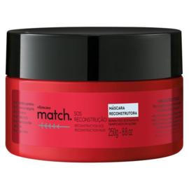 o Boticario, Match SOS Reconstructie Haar Masker 250 g