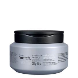 Match haarmasker voor grijs haar 250g