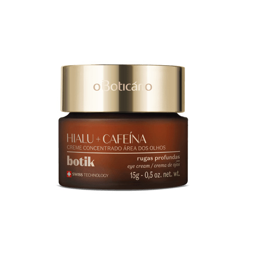 Botik Geconcentreerde Oogcrème Hyaluronzuur en Cafeïne 15g