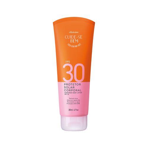 Cuide-se Bem Protetor Solar Corporal FPS 30, 200 ml