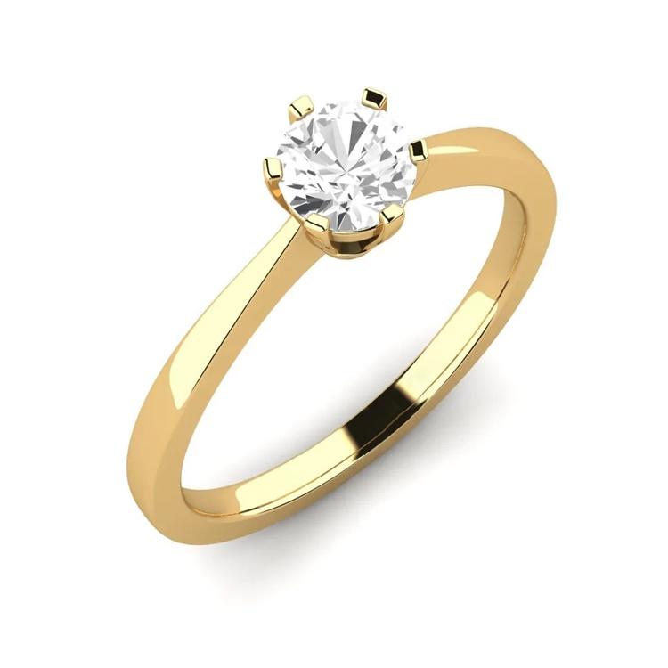 14k gouden ring voor vrouwen