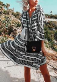 Short Dress Ella  Navy