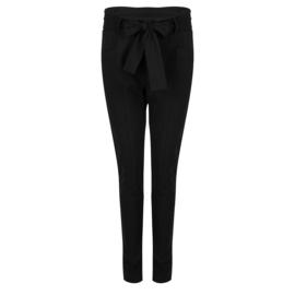 Jane Lushka Vera Bow Pants Black