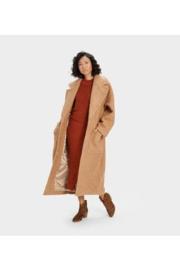 Hattie Long Oversized Coat  Camel