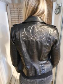 Leather Jacket Kolachi Black
