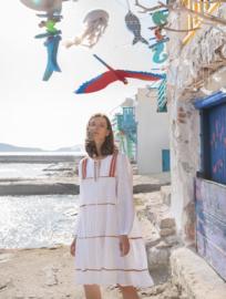 Short Dress Thiro White