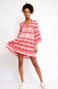 Short Dress Zakar Elena  Pink/Red