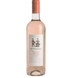 Les Vignerons Grenache Merlot Rosé
