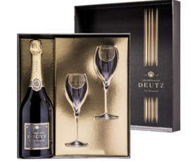 Deutz Brut 'Classic' in Giftbox + 2 Glazen NV