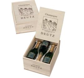 Deutz Brut 'Classic' in Houten Kist NV