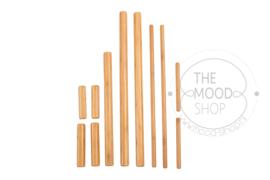 Bamboe massagestokken set