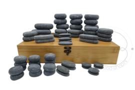 Hotstone stenen set 63 stenen
