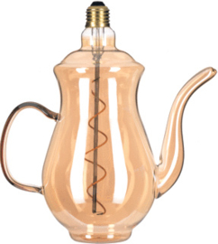 Bailey LED-lamp theepot 4W E27 2200K 190lm rose gold