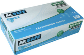 M-Safe steriele handschoenen ongepoederd  XL