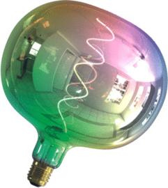 Calex LED-lamp 4W E27 2000K 40lm rainbow flat