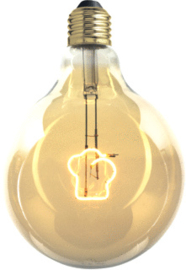 LED-lamp muts 4W E27 2700K 130lm