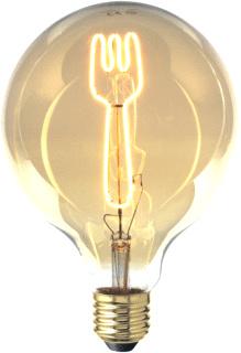 LED-lamp vork 4W E27 2700K 130lm