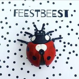 Feestbeest lieveheersbeestje