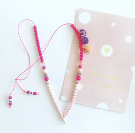 Ketting pretty in pink