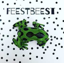 Feestbeest kikker groen