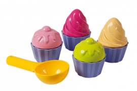 Zand set cup cakes