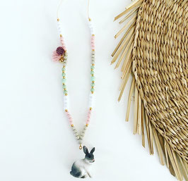 Ketting wooden pastel