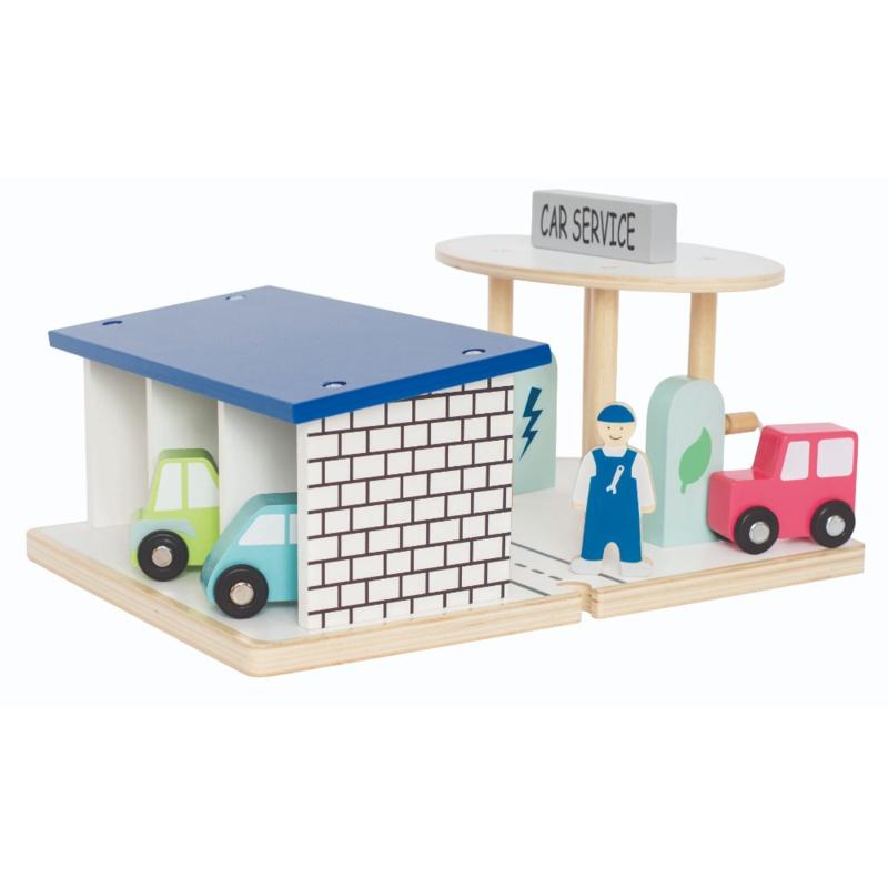 Speel set garage