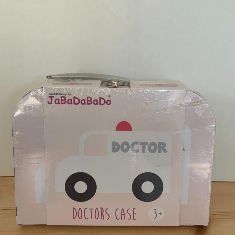 Kneusje Dokters koffertje roze
