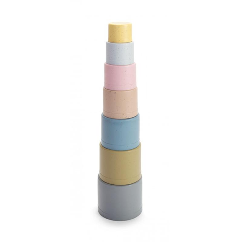 BIO plastic stapel toren