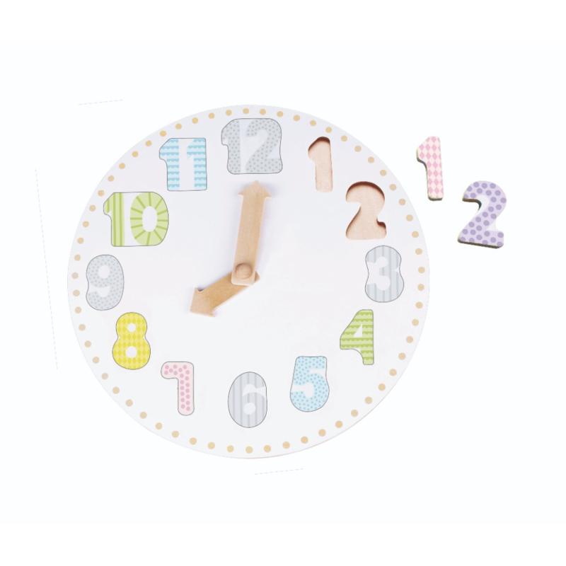 Puzzel klok