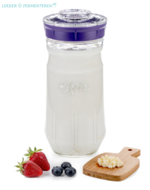 Kefirko kefir maker 1400 ml. violet