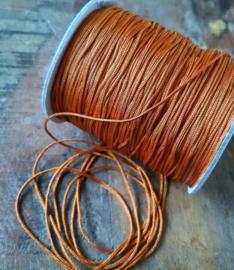 Macramé draad 1mm Rust Brown