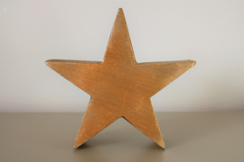 Decoratieve ster goud