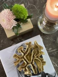 Ornament koraal polyresin
