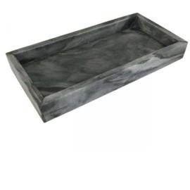 Tray marmer grijs 30x15