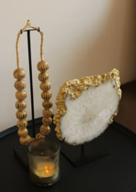 Agaatsteen Gold