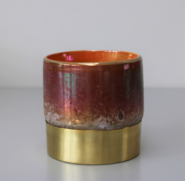 Waxinehouder brass small
