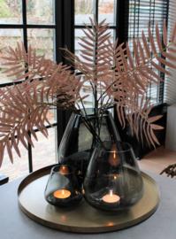 Roze palmtakken